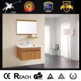 Vanidad impermeable del cuarto de baño del acero inoxidable con el estante (093)