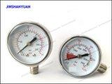 Gpg-006は通常の圧力計または調整装置二重Manomterのための圧力を減らす
