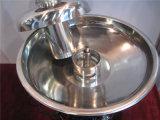 """Máquina comercial de la fuente de la """"fondue"""" de chocolate del acero inoxidable Grt-CF55 para la venta"""