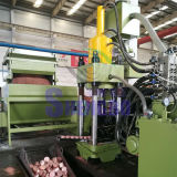 Horizontales automatisches Kupfer verschrottet Brikettieren-Ballenpresse (CER)