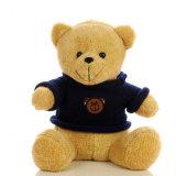 Brinquedo bonito do urso da peluche da roupa do desgaste