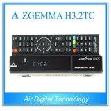 Zgemma H3.2tc met Bcm7362 de Dubbele SatellietOntvanger van Linux OS Enigma2 van de Tuners van de Kern dvb-S2+ 2*DVB-T2/C Dubbele Hybride