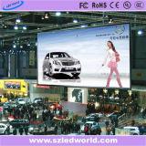 Publicidad de alquiler a todo color de interior de la tarjeta de pantalla de la fábrica del panel de visualización de LED de P5 SMD