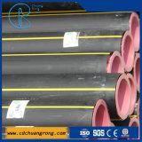 Pipes de gaz en plastique matérielles avec PE100