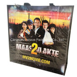 O saco personalizado de Ahopping do Tote, PP tecidos imprimiu o saco