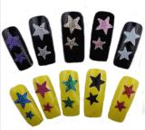 Модный стикер ногтя стикеров искусствоа ногтя украшения этикеты звезды 3D