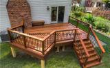 Het exotische Hardhout Decking van de Tuin Cumaru
