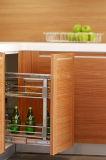 Armadio da cucina di legno del PVC della nuova di stile 2017 mobilia della casa
