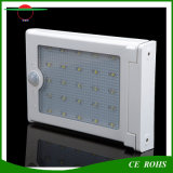 L'aluminium sec 25LED de détecteur de mouvement imperméabilisent la lumière solaire de mur avec la lampe lumineuse superbe de DEL