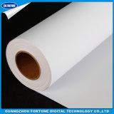 Película rígida do PVC da impressão durável do formato de Larget para o uso do carrinho da bandeira