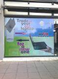 Video la pubblicità delle immagini dal lato stampato e fornito la visione libera dalla visione di one-way della parte interna
