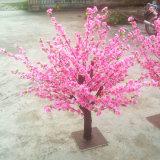 Красивейший 100cm Wedding искусственний вал цветения персика с розовым цветком