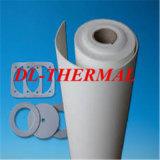 Papel refratário 1350 da fibra cerâmica da isolação para o fluxo de aço derretido