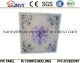 Telhas de pouco peso baratas do teto do PVC dos painéis de parede do teto do PVC dos materiais de construção do preço 595*595mm de China