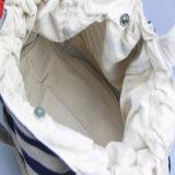 Entfernte Drucken-Segeltuch-Handtaschen-Frauen-kaufende grosse Freizeit-Handtasche