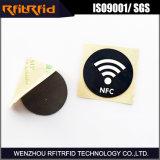 Ntag215 impermeabilizan la etiqueta impresa tamaño pequeño de NFC