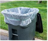 Saco de rolo de empacotamento FF-17071703 do saco do escaninho do saco de lixo do saco do saco dos desperdícios do saco do jardim