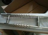 L'acier inoxydable Dh-103 prismatique tire le traitement de porte en verre