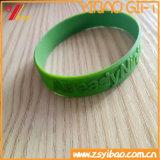 Bracelet fait sur commande de silicones de logo à vendre