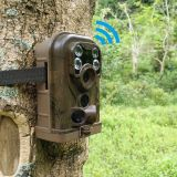 Ereagle GSM cámara inalámbrica de seguridad MMS MMS y SMS video infrarrojo de la cámara del rastro