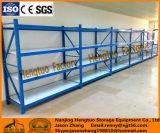 Étagères en acier à angle léger personnalisé pour entreposage d'entrepôt