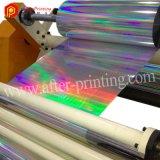 Pellicola olografica di laminazione termica chiara della colonna BOPP per stampa ed impaccare