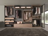 Caminhada européia de madeira dos Wardrobes do quarto nos armários