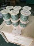 Pwht를 위한 K 열전대 철사 녹색 백색을 타자를 치십시오