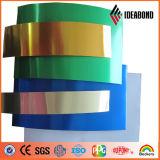 Bobina de alumínio de coating Co-Coating de preço para material composto de alumínio decorativo