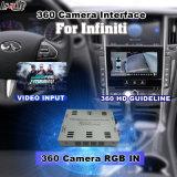 2014년 동안 뒷 전망 & 360 Panorama 공용영역 또는 Infiniti 멀티미디어 시스템 Lvds RGB 신호 입력 던지기 스크린을%s 가진 최신 Infiniti Q50 Q60