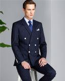 Doppelte Breasted Streifen-Mann-Anzüge