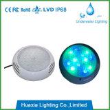 Lumière de syndicat de prix ferme de résine époxy de DEL, éclairage sous-marin imperméable à l'eau de 100%