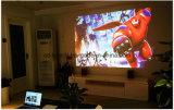 파랗 광선 가득 차있는 HD를 가진 3D LED 영사기