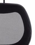 Hohes rückseitiges Ineinander greifen-ergonomischer Büro-Stuhl Filp herauf Armest, schwarz