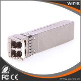 Transceptor compatível 10GBASE-ZR 1550nm 80km de SFP-10G-ZR SFP+