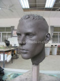 店のための彫刻のヘッドマネキン
