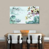 La peinture chinoise estampée par Digitals pour la décoration à la maison