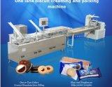 Máquina de sanduíche de biscoito de pista única