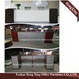 (Hx-ND5040) het Grote Kantoormeubilair van de Melamine van de Lijst van de Ontvangst van het Bureau Tegen Houten