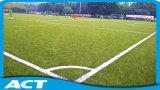 Grama sintética para o futebol com fio grosso do PE