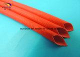 Manicotto a temperatura elevata di vetro di fibra del tubo Braided della vetroresina