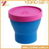 Крышка силикона с чашкой фарфора