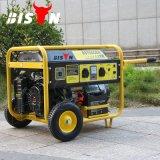 Bisonte (Cina) BS7500u (H) aria portatile del generatore della benzina 15HP della famiglia silenziosa certa di qualità di 6kVA 6kw raffreddata
