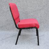 Дешевый розовый Stackable эргономический стул церков поклонению молельни (YC-G75)