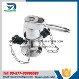 Válvula de la muestra de la abrazadera del acero inoxidable 304