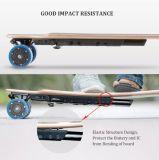 patín eléctrico de cuatro ruedas de 350W Longboard con el canadiense 7-Ply de la madera del arce