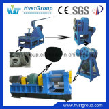 Sistema di riciclaggio della gomma per la macchina di gomma della polvere
