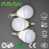 G45 E14 5W LEDはSMD 2835の全体的な球根をつける