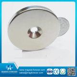 Magnete basso rotondo di NdFeB del POT permanente del neodimio