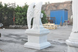 White Carrara Stone Sculpture Marble Memorial (SY-M001)